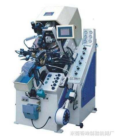 电脑控制油压自动上胶前帮机 QF-739DA(MA)