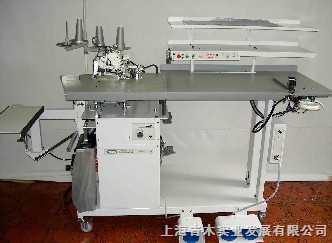 日本YUHO ヒザ裏付きサージング(裏地仮止め装置付き)  U-2302-D全自动缝纫机